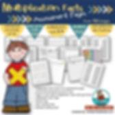 math, multplication assessments, teaching resources, MrsQuimbyReads