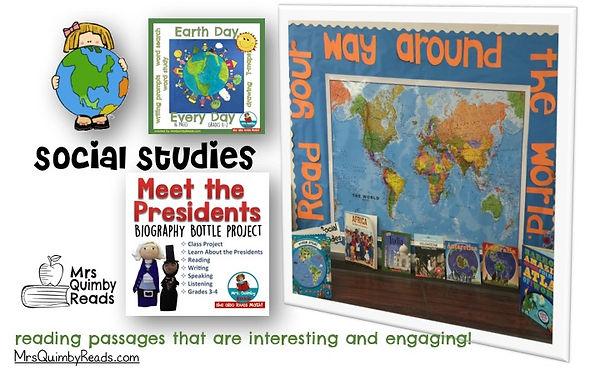 social studies, MrsQuimbyReads, teaching resources
