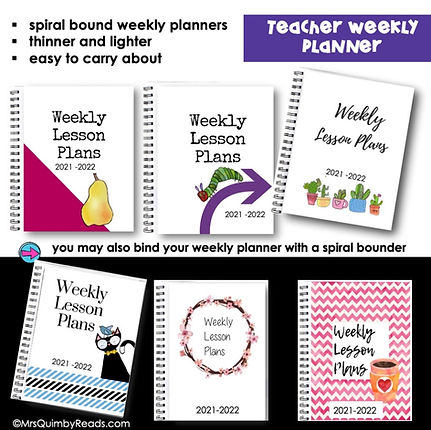 teacher binder-lesson planner