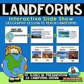 teaching landforms