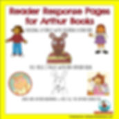 Arthur Books, Children's Literature, reader response pages