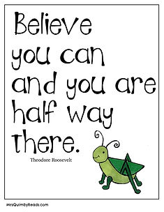 believe you can - growth mindset