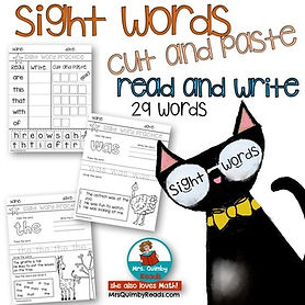 Sight Words - Practice
