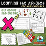 letter x - learning the alphabet