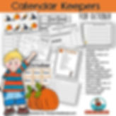 calendar math and activities for October, teaching resources, primary grades