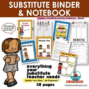 Substitute Notebook - resource