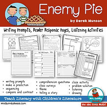 enemy pie - book companion