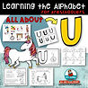 letter U - learning the alphabet