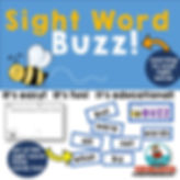 Sight Words, Buzz game