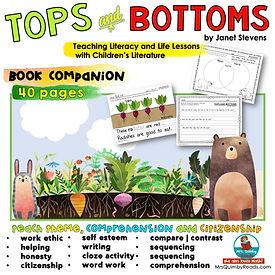 Tops & Bottoms- Book Companion