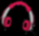 listening -headphones