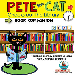 Pete the Cat - Library