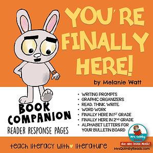 You're Finally Here - Book Companion