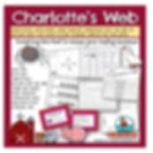Charlotte's Web, children's literature, reader response pages, teaching resources for charlotte's web, E.B. White, book companion