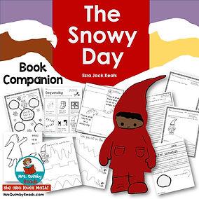 The Snowy Day - book companion