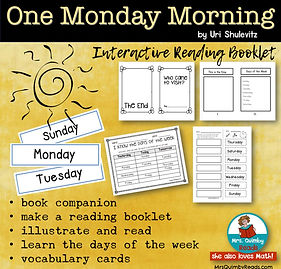 one monday morning-booklet