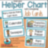 helper chart, primary grades, teaching resources, student behavio, student helper chart