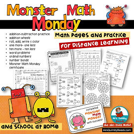 Monster Math Monday