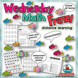 Wednesday Math Frenzy