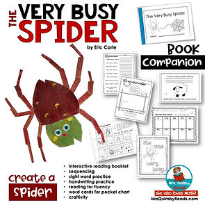 The Very Busy Spider - Book Companion