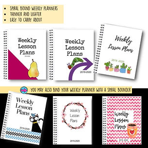 teacher binder, weekly lesson planner7