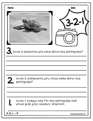 photo writing prompts, writing skills, teaching resources