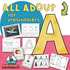 learning the alphabet - letter A