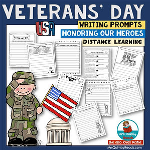 Veterans' Day Writing Prompts