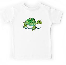 tshirt designs, turtle, kids' fashion