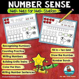 math mats - number sense