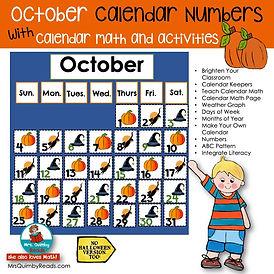 October Calendar Math