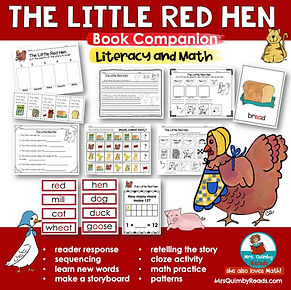 The Little Red Hen - book companion
