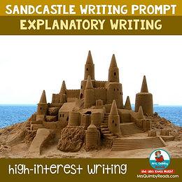 Explanatory Writing - Sandcastles