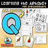 Letter Q - Learning the alphabet
