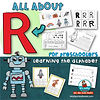Letter R - learning the alphabet