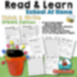 Read & Learn -Literacy-School At Home