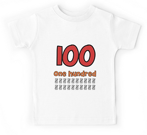 100 days of school t- shirt
