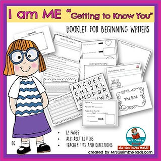 Back-to-School-activities-I-am-Me-Booklet