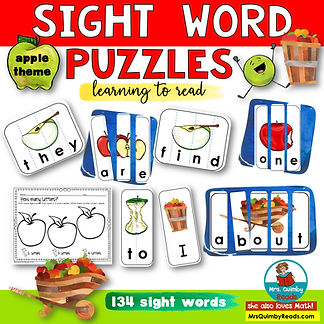 sightwords-appletheme
