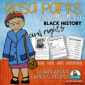 biography-Rosa-Parks-Black-History-writing-about-Rosa-Parks