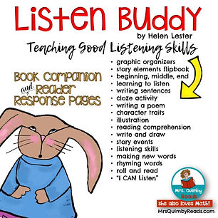 Listen Buddy- book companion