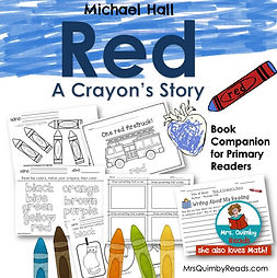 Red, A Crayon's Story-book companion