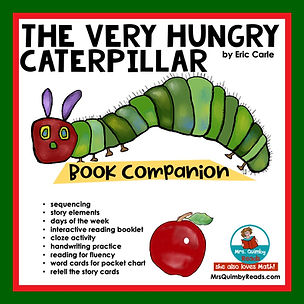 The Very Hungry Caterpillar- book compan