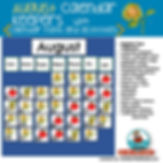 teaching resources for calendar math, August, math centers, primary grades, teaching resources