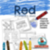 Red, a crayon's story, kindergarten, first grade, teaching resources, literacy instruction, writing for beginners