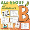 letter B - learn the abcs