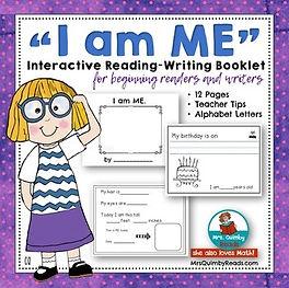 I am ME - booklet