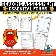 Reading Assessment Forms