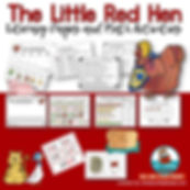 little red hen, kindergarten, first grade, real aloud, preschoolers, teaching reading, teaching resources, writing about books, beginning literacy, good books for kids