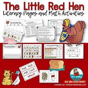 The-Little-Red-Hen-teaching-resources